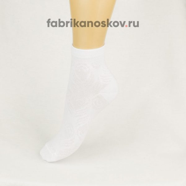 Детские носки с ажуром