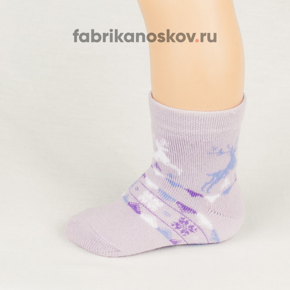 Детские носки с оленями