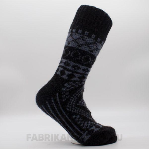 Мужские шерстяные носки с орнаментом