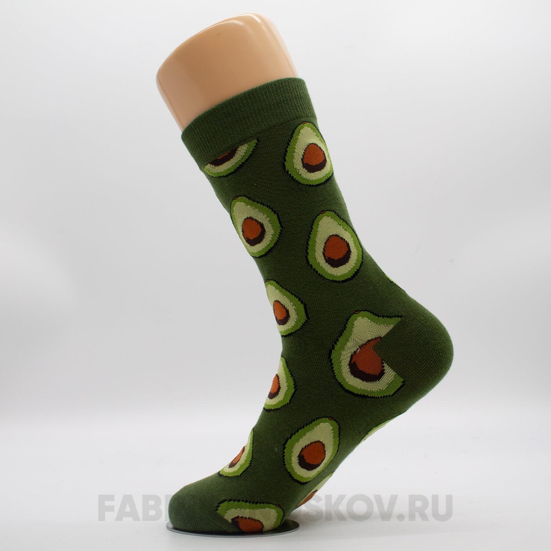 Женские носки с авокадо