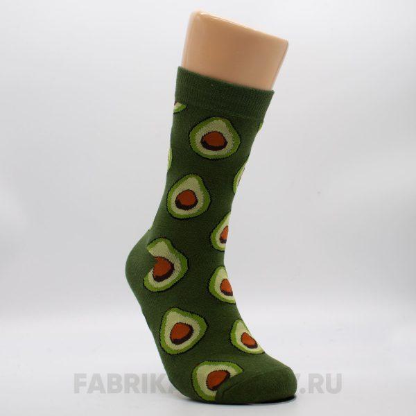 Мужские носки с авокадо