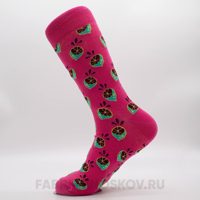 Мужские носки с изображением лайма
