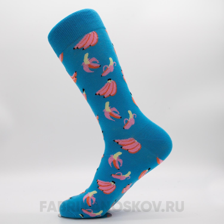 Женские носки с изображением бананов