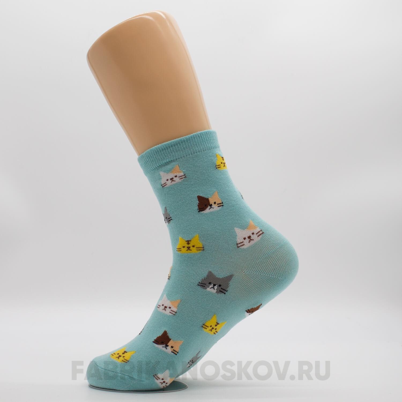 Женские носки с котиками