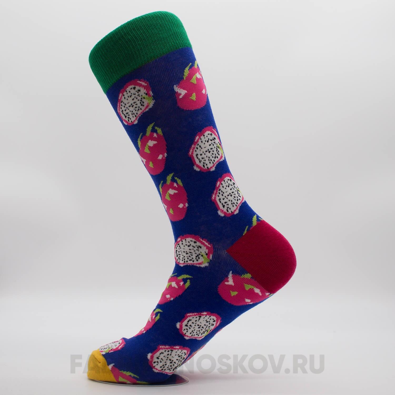 Женские носки с изображением драгон фрукта