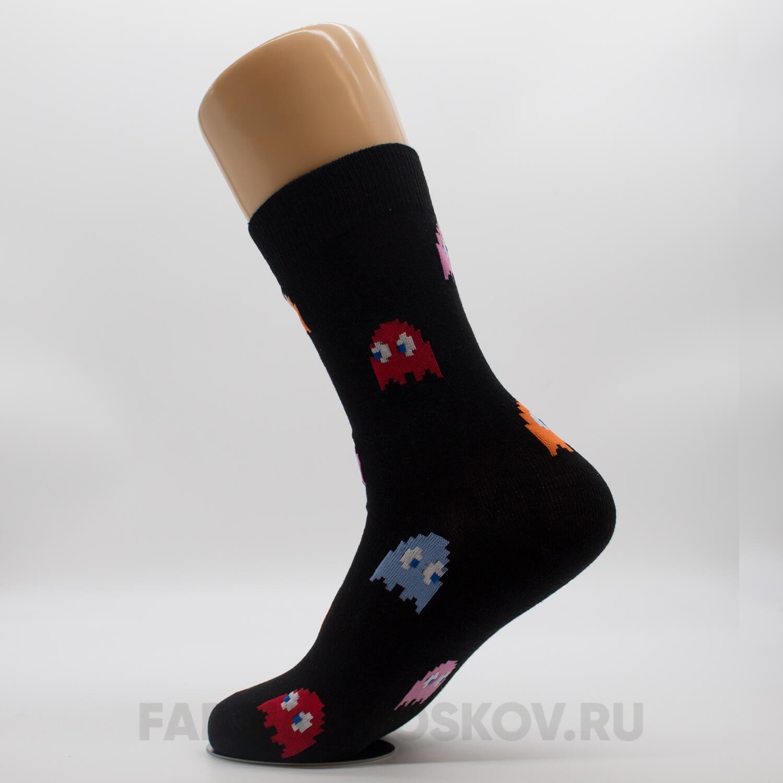 Мужские носки с привидениями