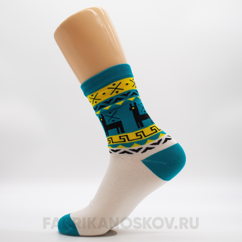 Женские носки с ламами