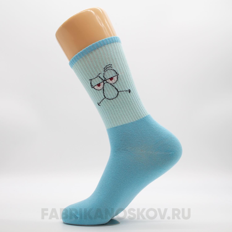 Мужские носки «Сквидвард»