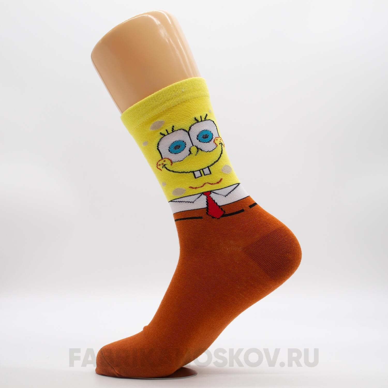 Мужские носки «Спанч Боб»