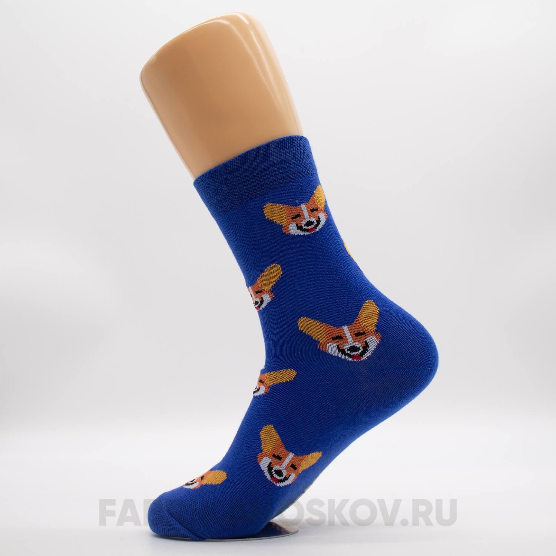 Мужские носки с корги