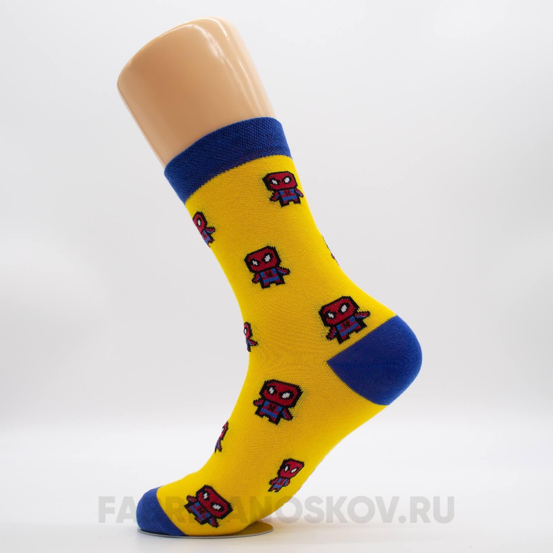 Мужские носки человек паук