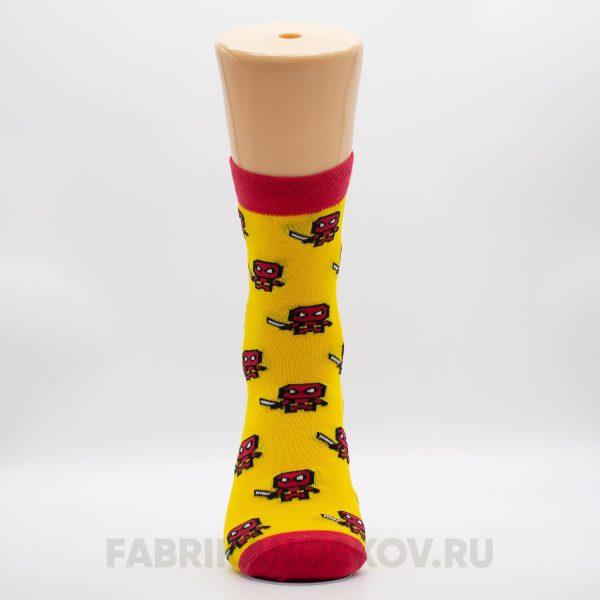 Мужские носки дед пул