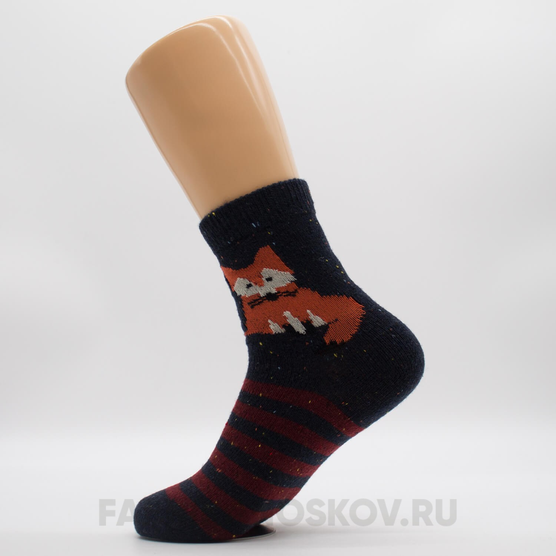 Женские носки с лисой