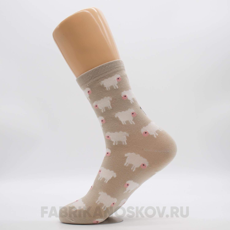 Женские носки «Черная овечка»