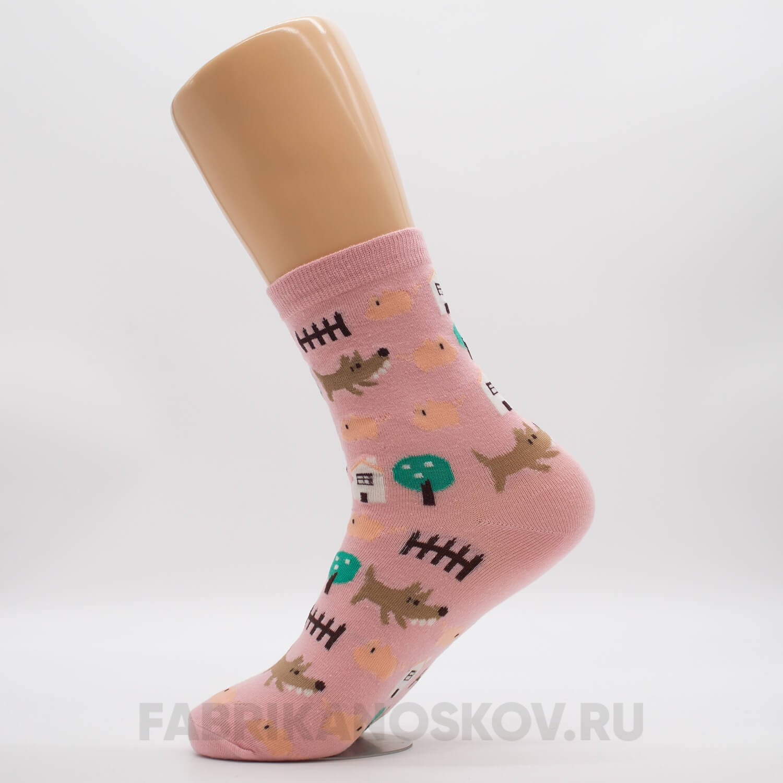 Женские носки с собачками