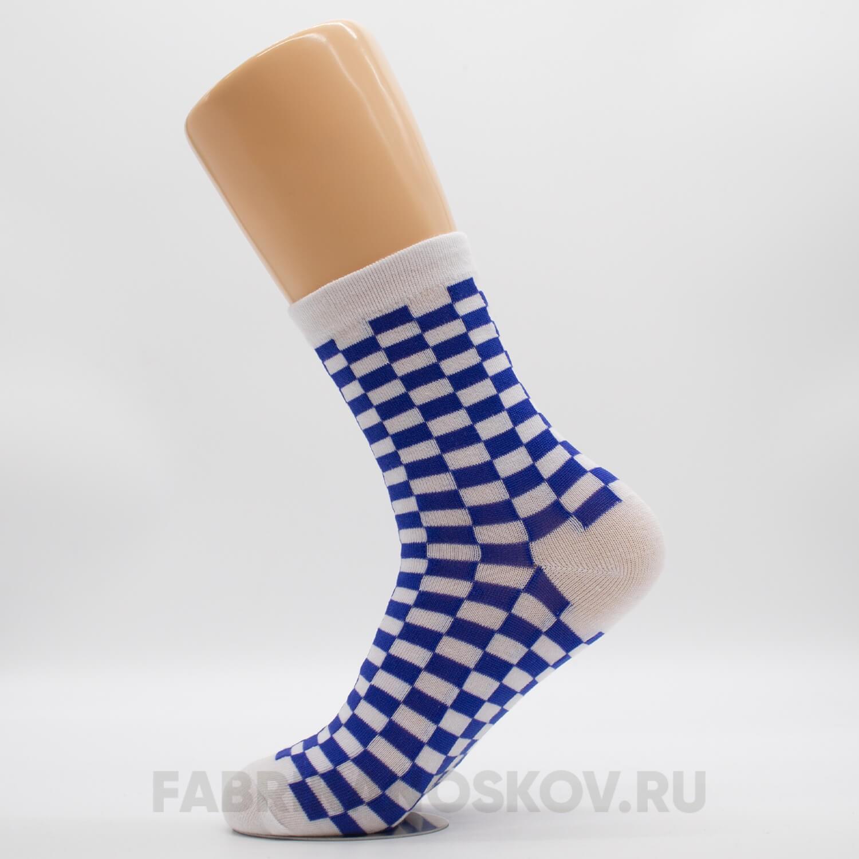 Мужские носки с прямоугольниками