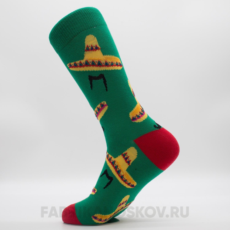 Мужские носки с сомберо