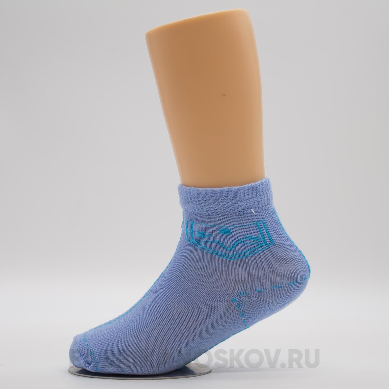 Детские носки с изображением кармашков