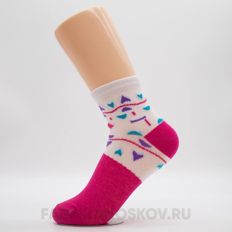 Детские носки геометрия