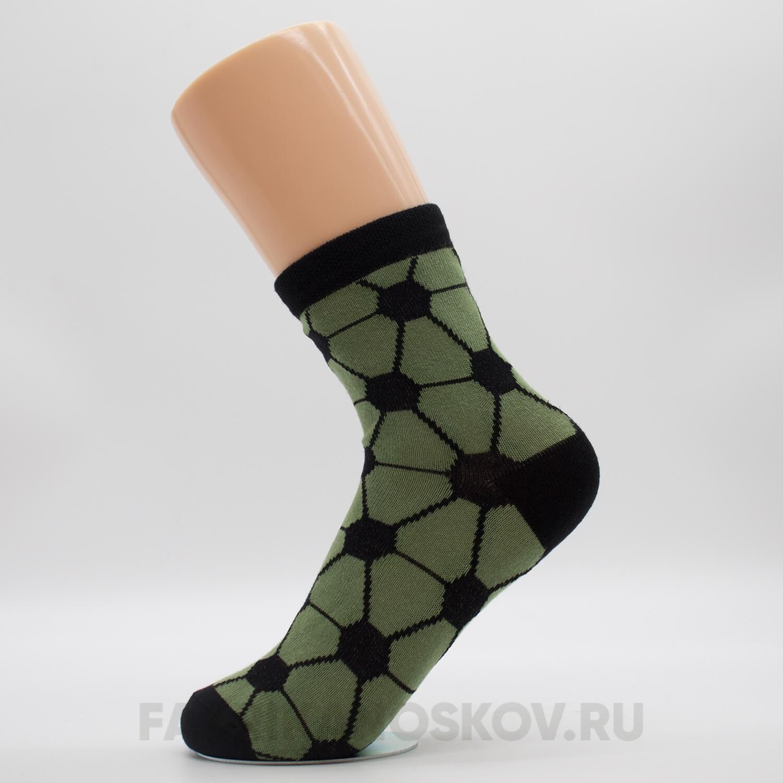 Детские носки с футбольной тематикой