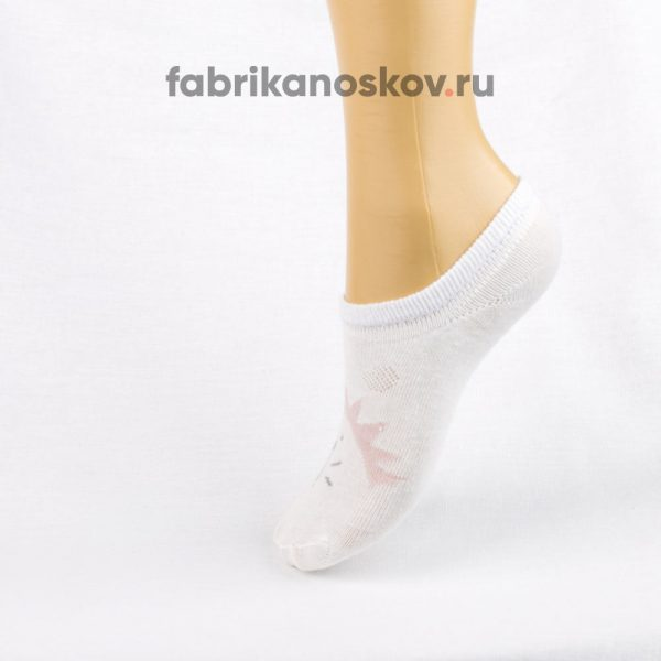Короткие детские носки с изображением ежика