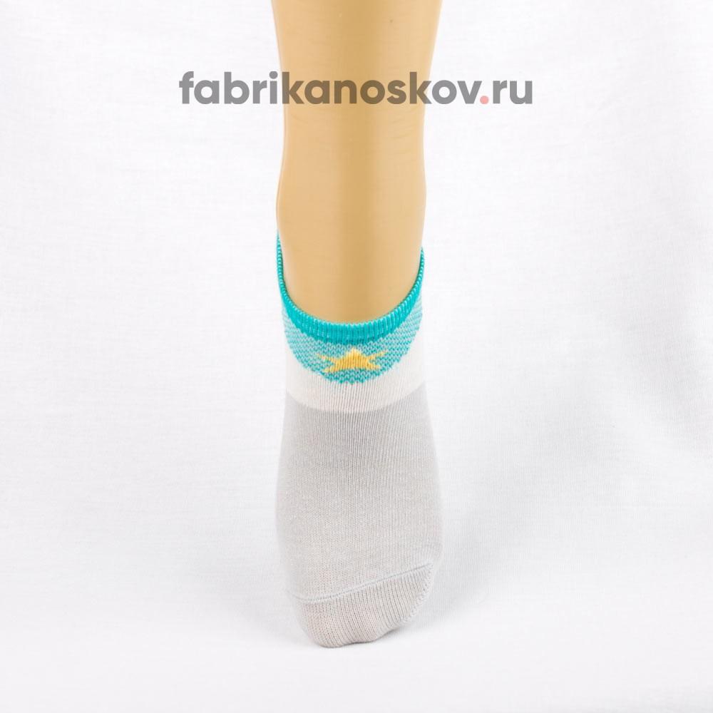 Короткие носки для малышей с изображением звезды