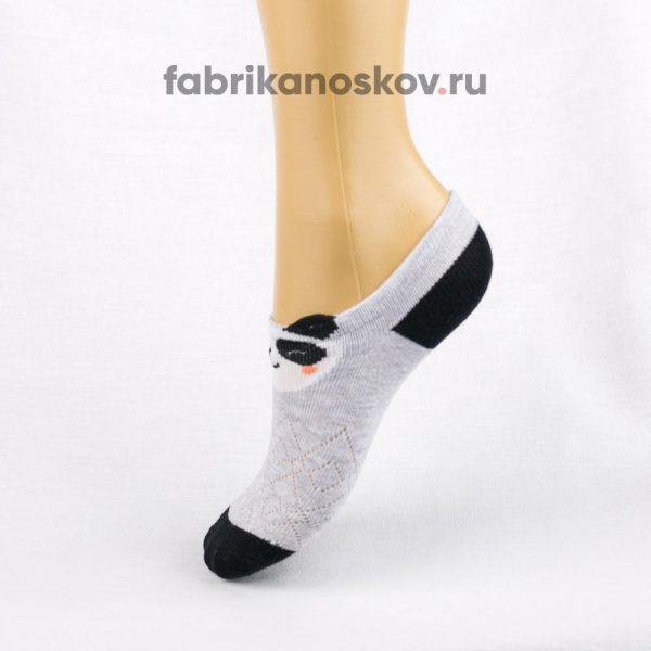 Короткие детские носки с изображением панды