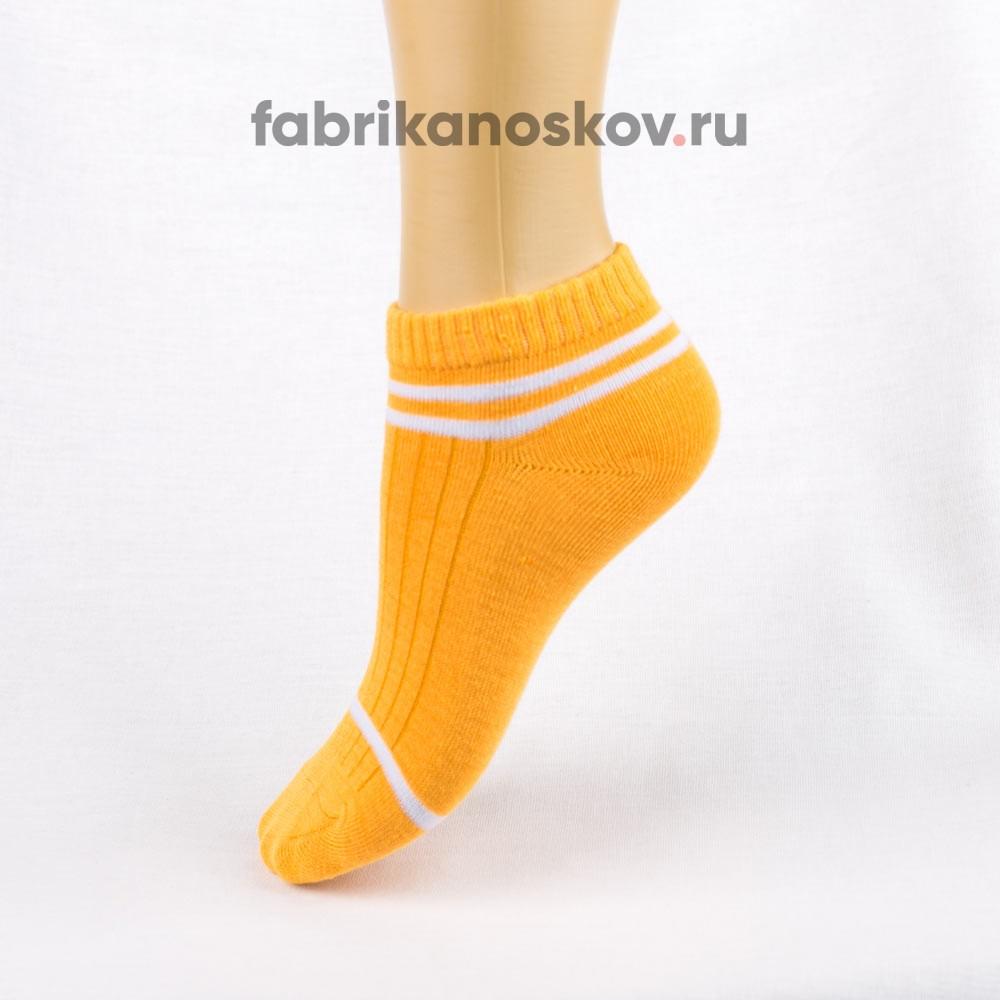 Короткие носки с полосками для малышей