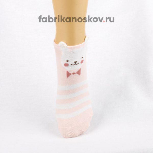 Детские носки с изображением медвежонка