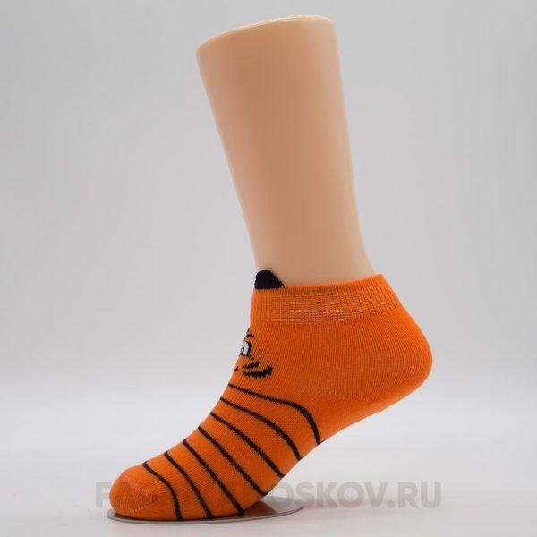 Детские носки с мордочкой тигра