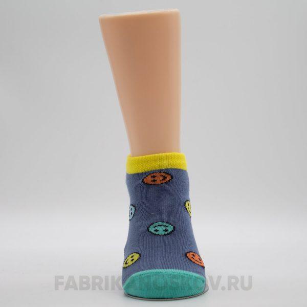 Детские носки со смайликами