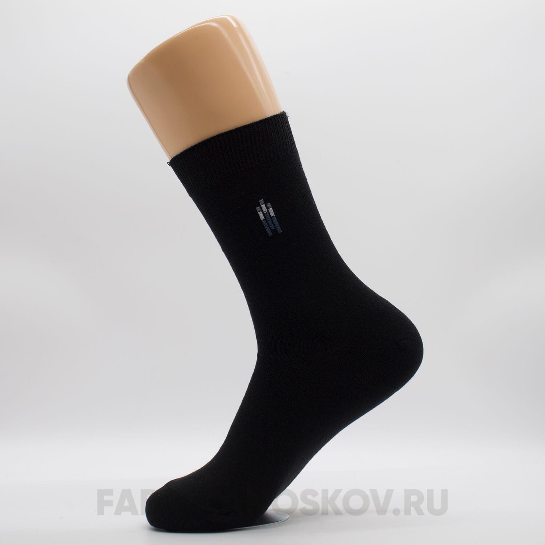 Мужские гладкие носки с полосками разных цветов