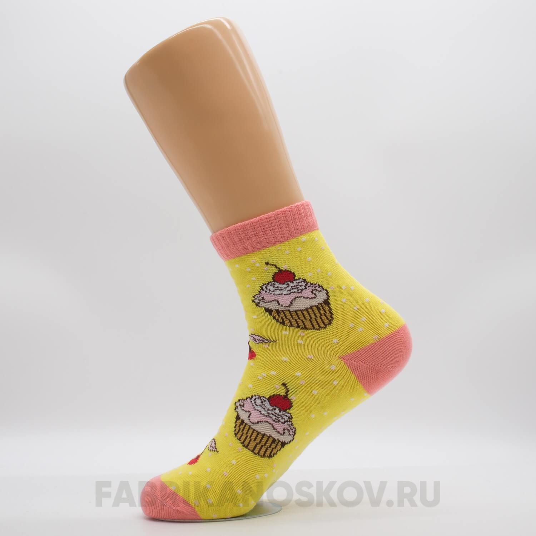 Женские носки «Пирожное»
