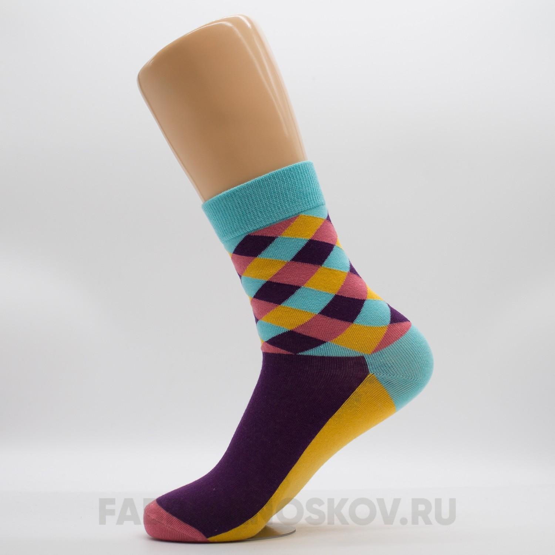Мужские носки с орнаментом