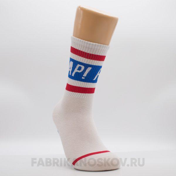"""Мужские носки с надписью """"RAP"""""""