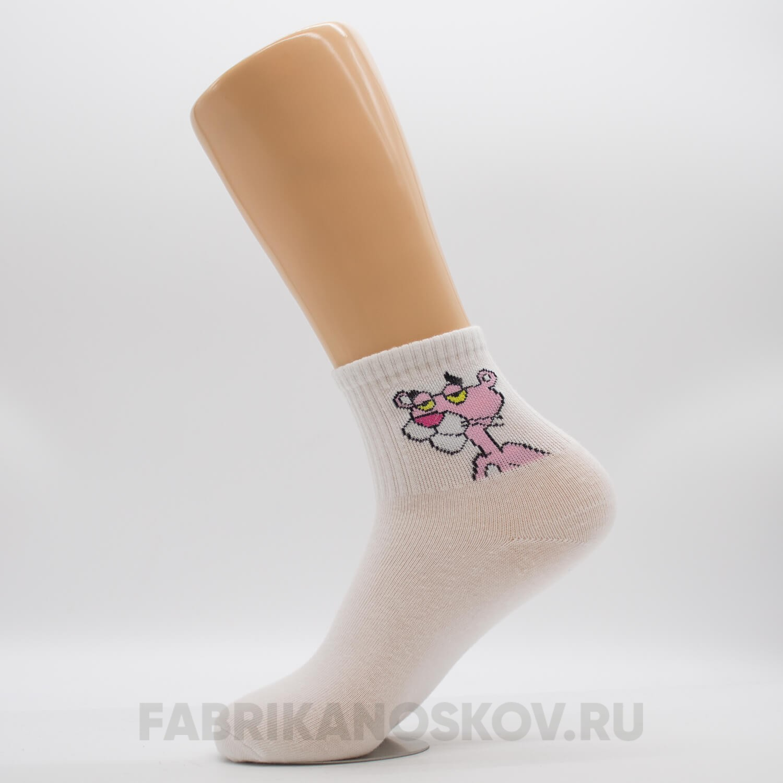 Мужские носки с изображением пантеры